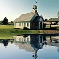 Church Reflection by Doris Aguirre