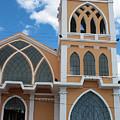 Church Steeple In Ibarra by Robert Hamm
