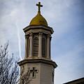 Church Steeple Nashville by Marina McLain