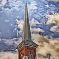Church Steeple by Timothy Flanigan