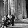 Church Step Lovers by Madeline Ellis