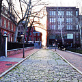 Church Street Cobblestones - Philadelphia by Bill Cannon