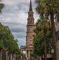 Church Street In Charleston Sc by Dale Powell