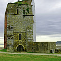 Church Tower - Remains Of St Helens Church by Rod Johnson