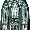 Church Window by Amanda Barcon