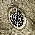 Church Window And Shadows 2 by E Robert Dee