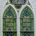 Church Window by D Hackett