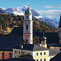 Churches In Berchtesgaden by Anthony Dezenzio