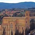 Churches Of Sienna by Debbie Fenelon