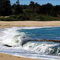 Churning Surf At Monastery Beach by Joyce Dickens