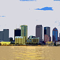 Cigar City Skyline by David Lee Thompson