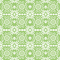 Cilantro- Green And White Art By Linda Woods by Linda Woods