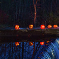 Cillyhill Pumpkin Glow Reflection by Jeff Folger