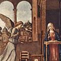 Cima Da Conegliano The Annunciation by PixBreak Art