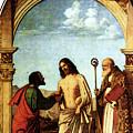 Cima Da Conegliano The Incredulity Of St Thomas With St Magno Vescovo by PixBreak Art