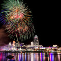 Cincinnati Fireworks by Keith Allen
