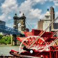 Cincinnati Landmarks 1 by Mel Steinhauer