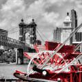 Cincinnati Landmarks 1 Selective Color by Mel Steinhauer
