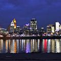 Cincinnati Night Lights by Tonya Peters