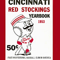 Cincinnati  Reds 1953 Yearbook by John Farr