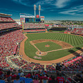 Cincinnati Reds Great America Ballpark Creative 1 by David Haskett II