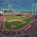 Cincinnati Reds Great America Ballpark Creative 2 by David Haskett II