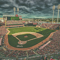 Cincinnati Reds Great American Ballpark Creative 5 by David Haskett II