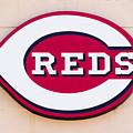 Cincinnati Reds Logo Sign by Paul Velgos
