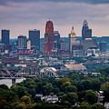 Cincinnati Skyline by Andrew Johnson
