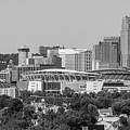 Cincinnati Skyline From Above  by John McGraw