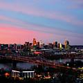 Cincinnati Skyline by Nicole Boesenberg