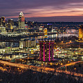 Cincinnati Sunrise by Greg Grupenhof