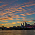 Cincinnati Sunset by Ina Kratzsch