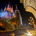 Cinderella And Her Castle by Jeffrey Miklush