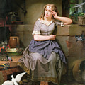 Cinderella And The Birds by English School