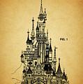 Cinderella Castle Patent by Dan Sproul