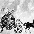 Cinderella's Carriage-black by Erzebet S