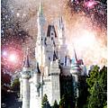 Cinderella's Castle, Fantasy Night Sky, Walt Disney World by A Gurmankin NASA