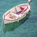 Cinque Terre Boat  by John McGraw
