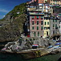 Cinque Terre Northern Italy by Roger Mullenhour