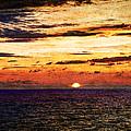 Cinque Terre - Sunset From Manarola - Panorama - Vintage Version by Weston Westmoreland