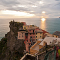 Cinque Terre Tranquility by Mike Reid