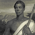 Cinque, The Chief Of The Amistad Captives by J Sartain