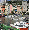 Cinqueterre Boats by Stan and Anne Foster