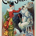 Cirage Jacquot And Cie - Vintage French Advertising Poster by Studio Grafiikka