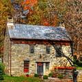 Circa 1776 Stone House by Linda Covino