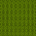 Circle And Oval Ikat In Black T09-p0100 by Custom Home Fashions