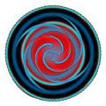 Circle Study No. 320 by Alan Bennington