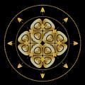 Circle Study No. 458 by Alan Bennington