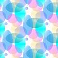 Circles In Pastel by Kathleen Sartoris